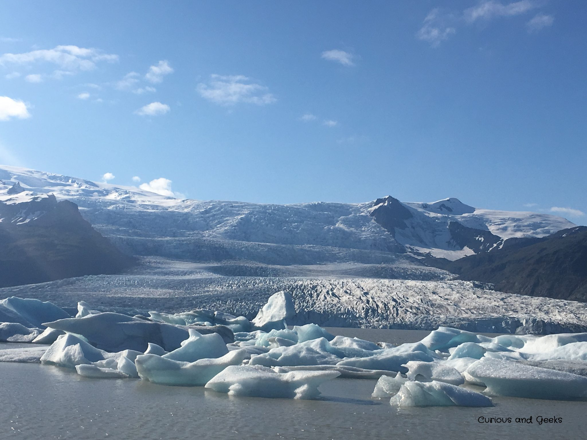Day 3 glacier 1 - Iceland with kids: 9 day road trip itinerary around the ring road