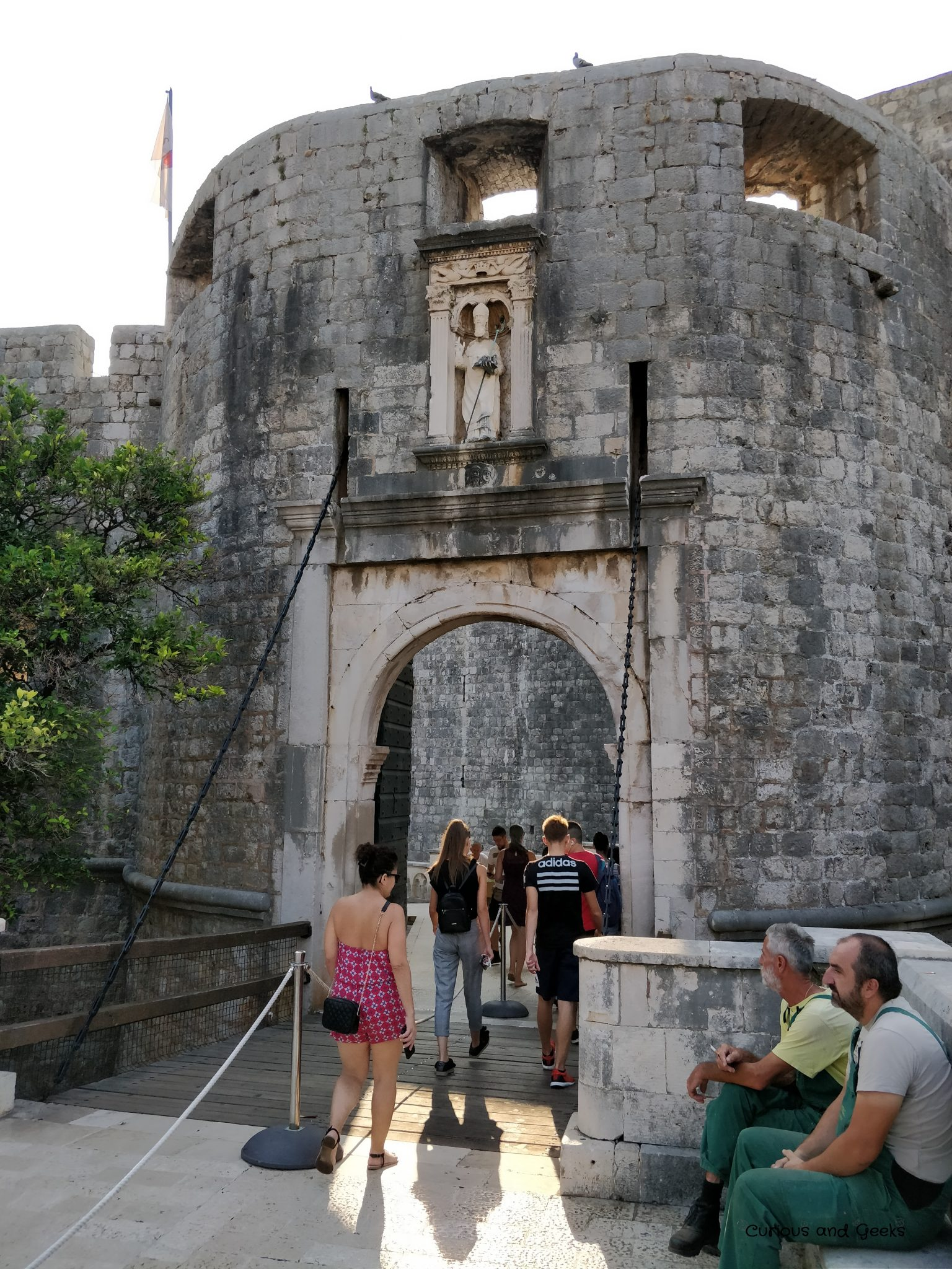 Pile Gate in Dubrovnik Old Town - filming location for s02e06 of Game of Thrones