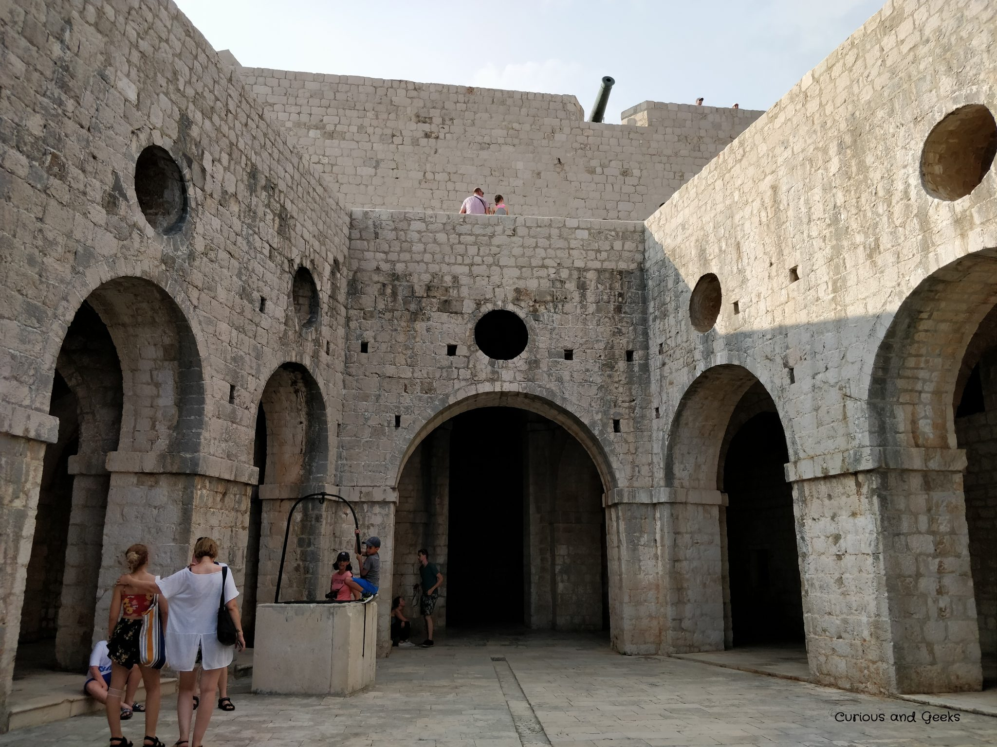 Fort Lovrijenac in Dubrovnik - filming location for s02e01 of Game of Thrones