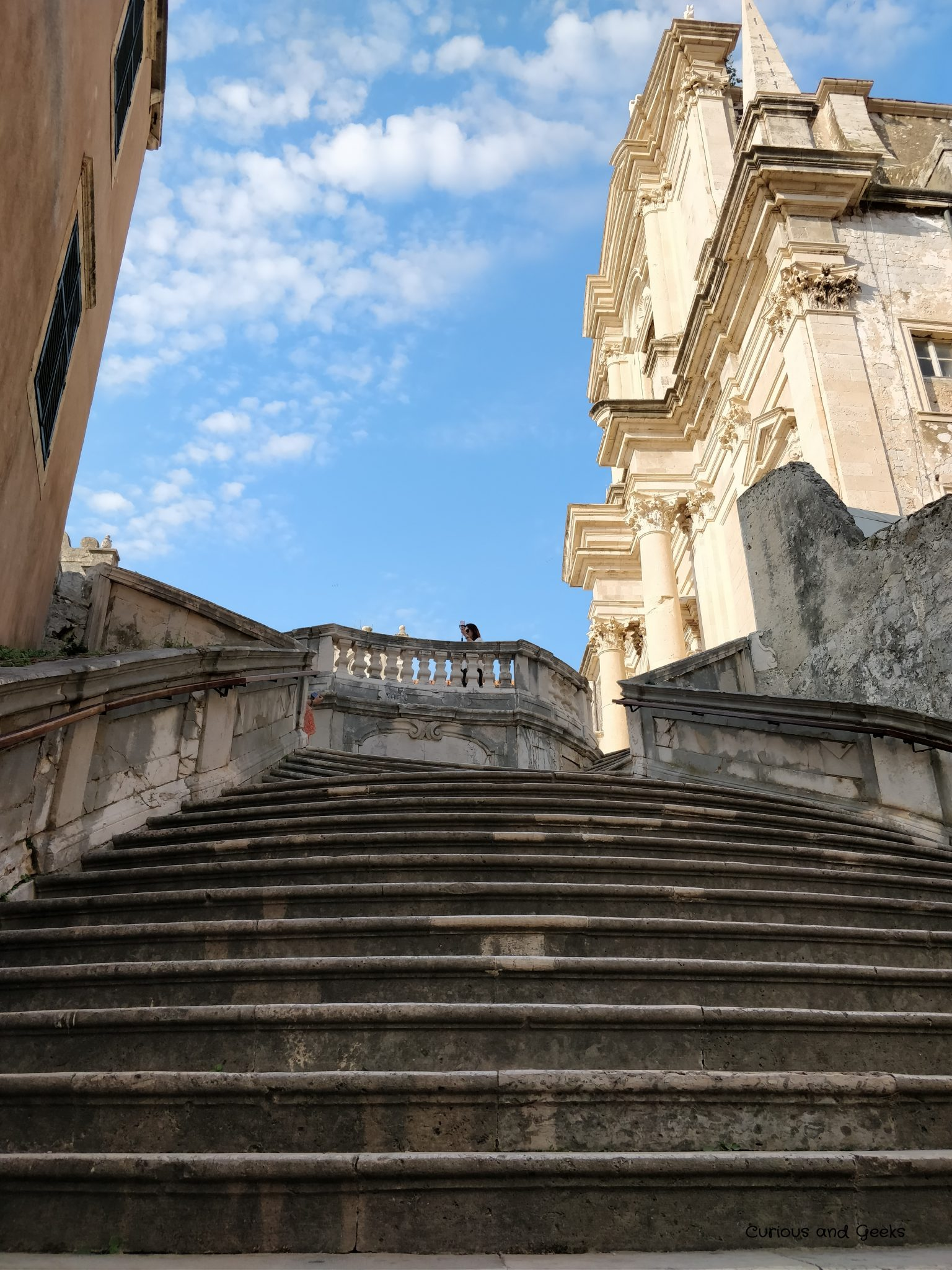 3. The Jesuit Staircase 2 - Game of Thrones filming locations in Dubrovnik