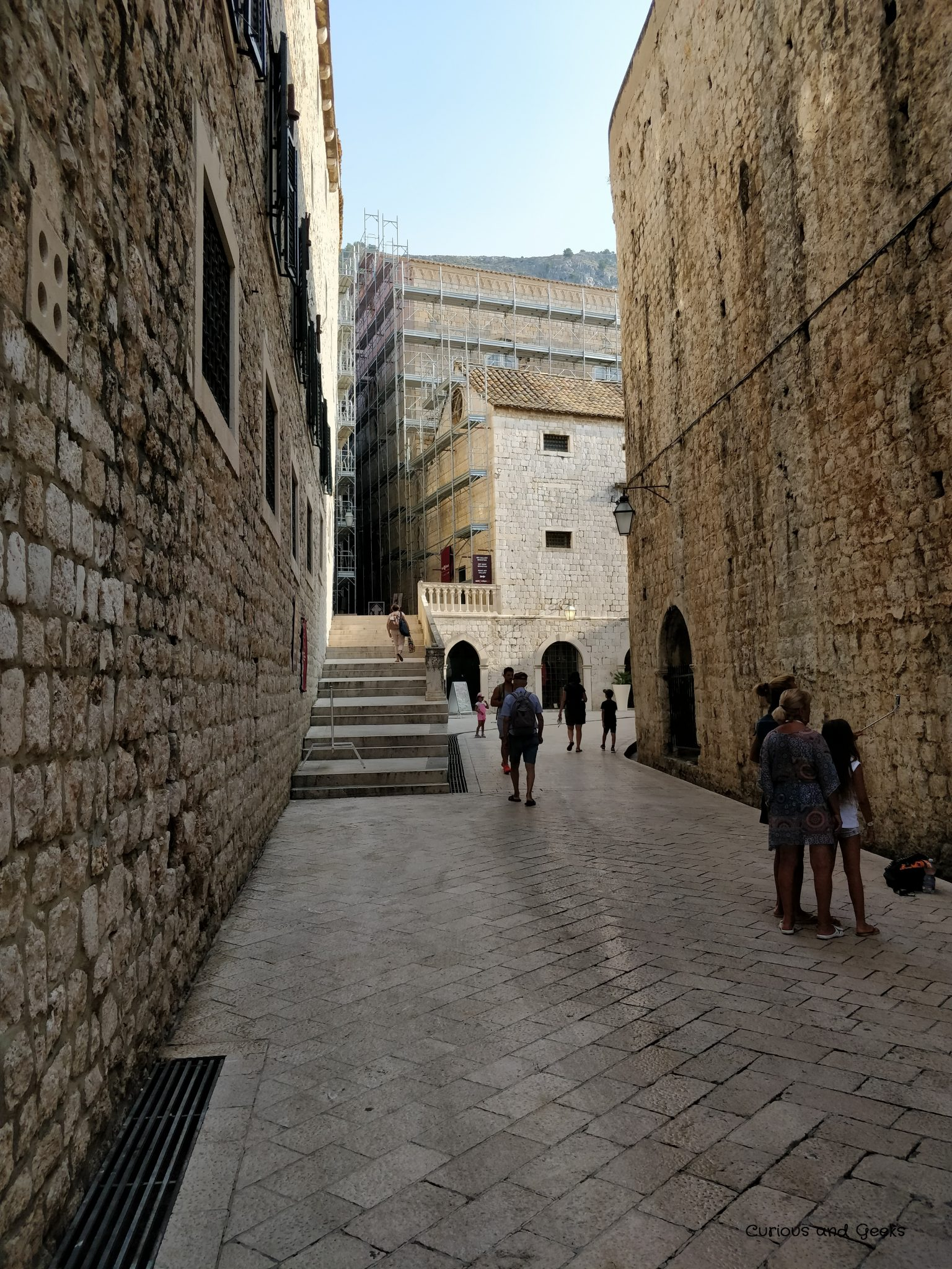 St Dominic Street in Dubrovnik Old Town - filming location for King's Landing streets