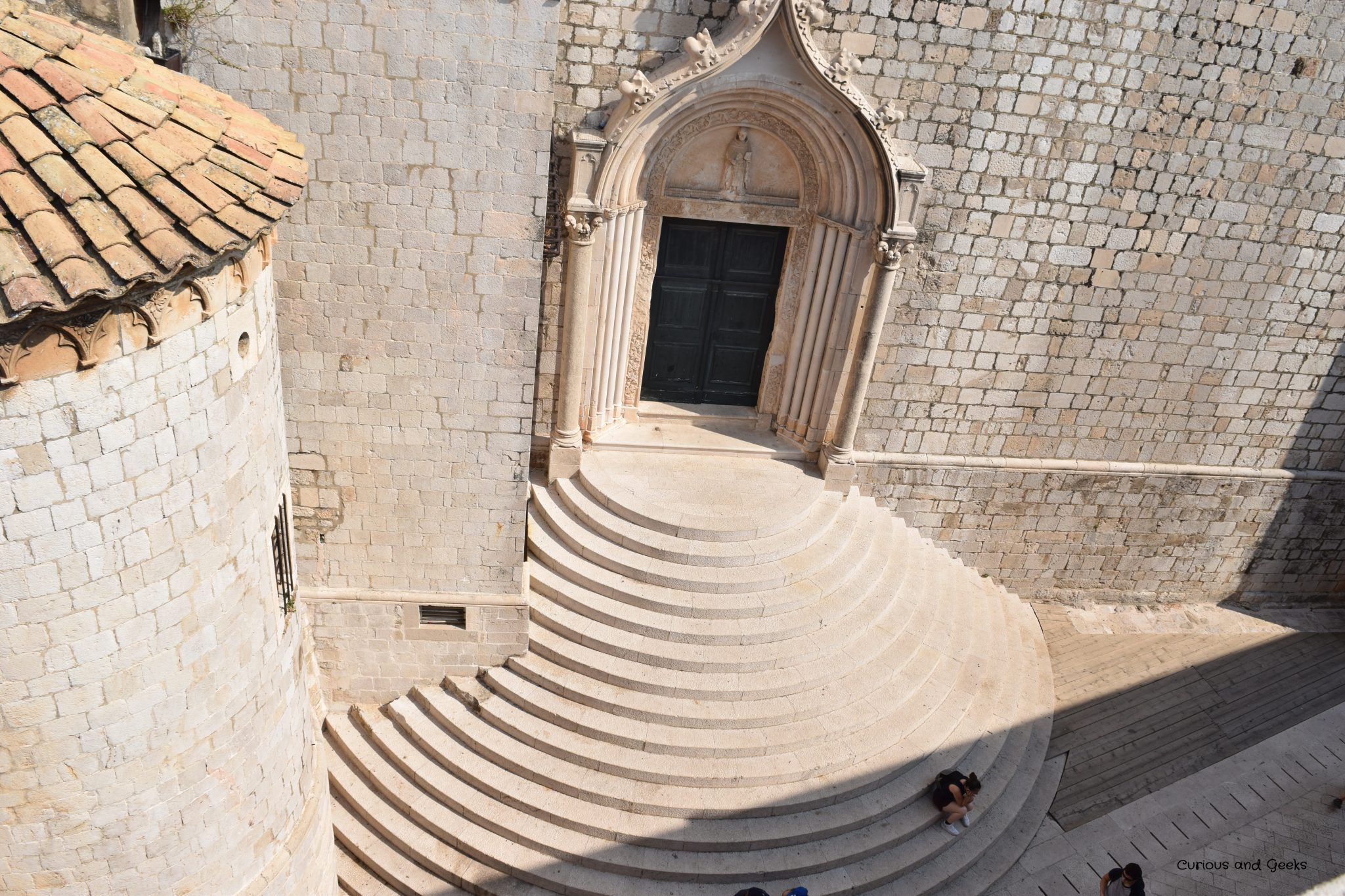 View from the city walls in Dubrovnik - filming location for s02e05 of GOT