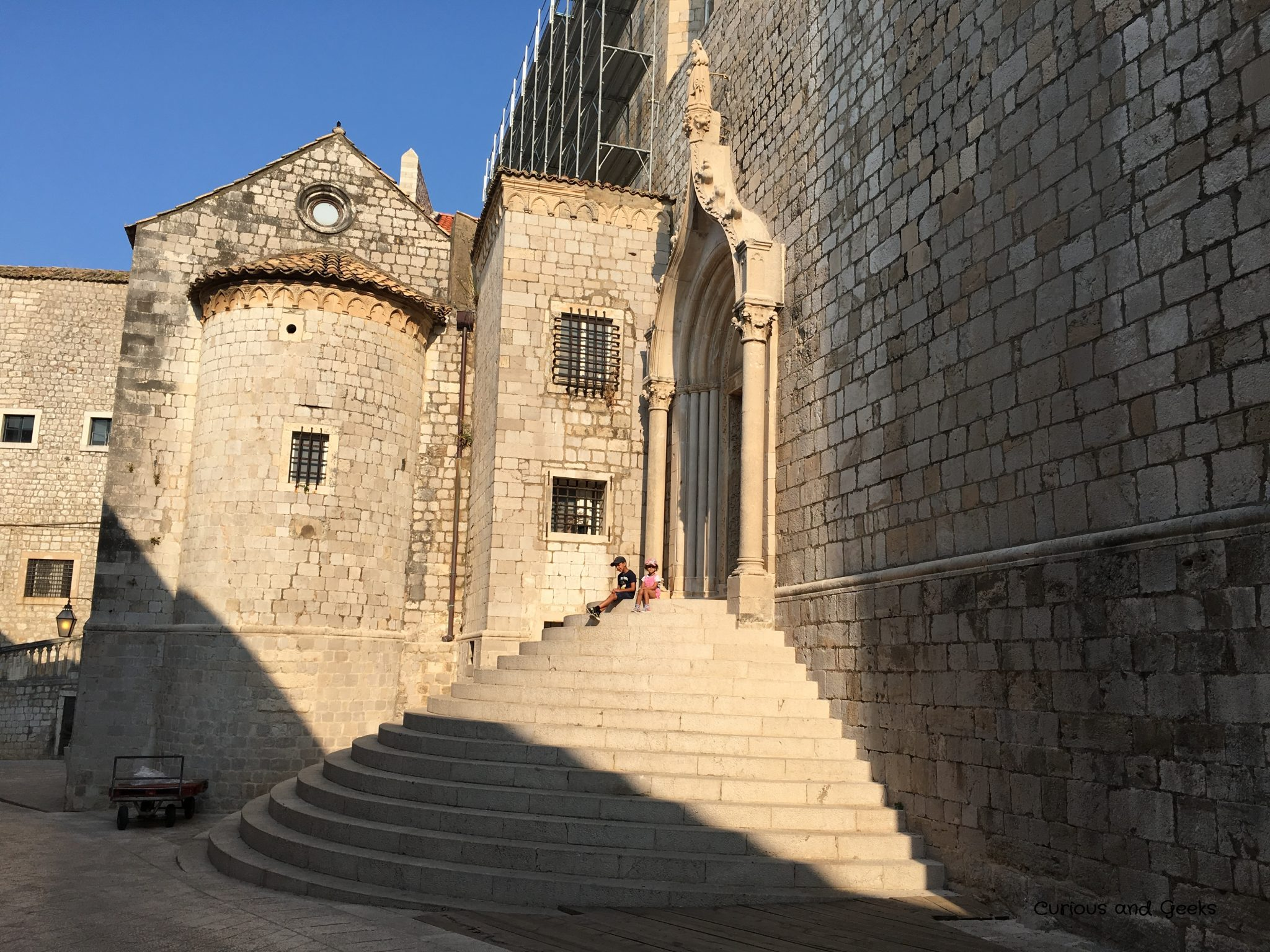 Dominican Monsatery in Dubrovnik old town - filming location for s02e05