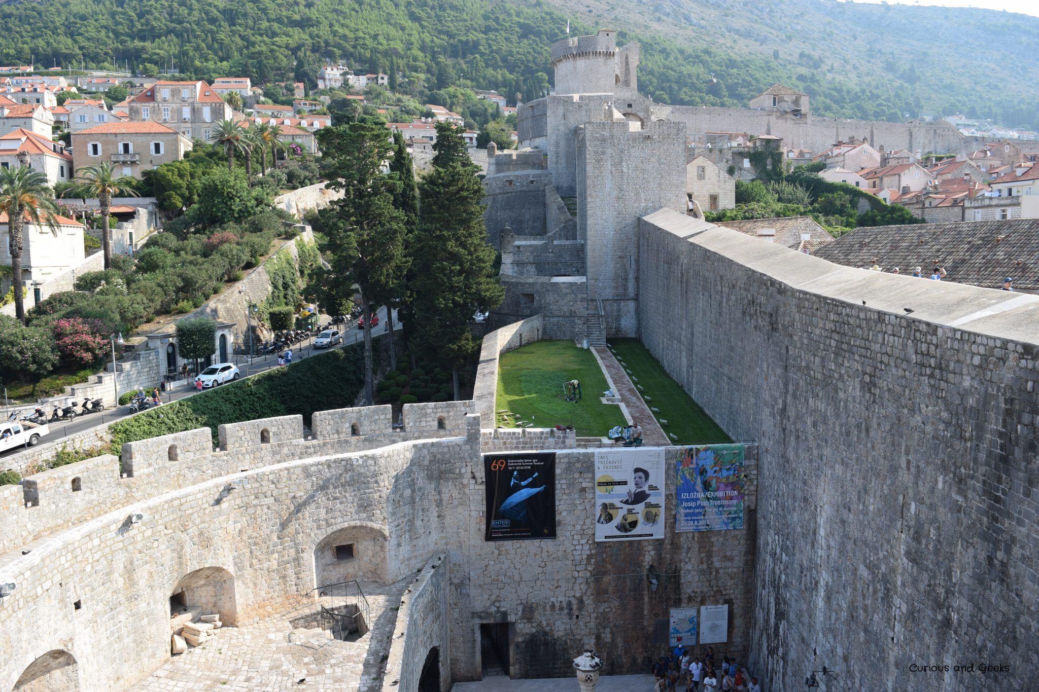 8. The practice field - Game of Thrones filming locations in Dubrovnik