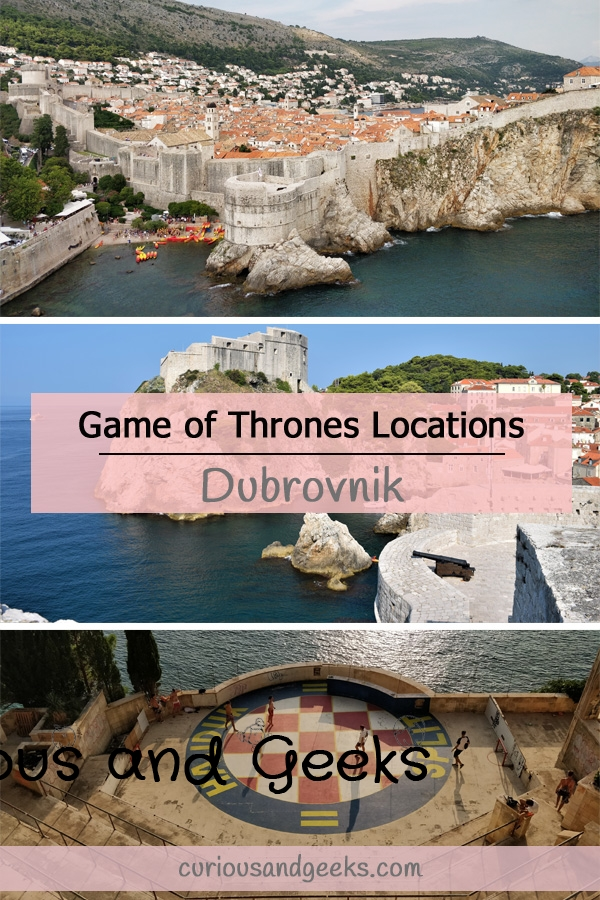 Want to find Game of Thrones filming locations in Dubrovnik? You are in the right place, this post comes with a map including 20 spots to see.