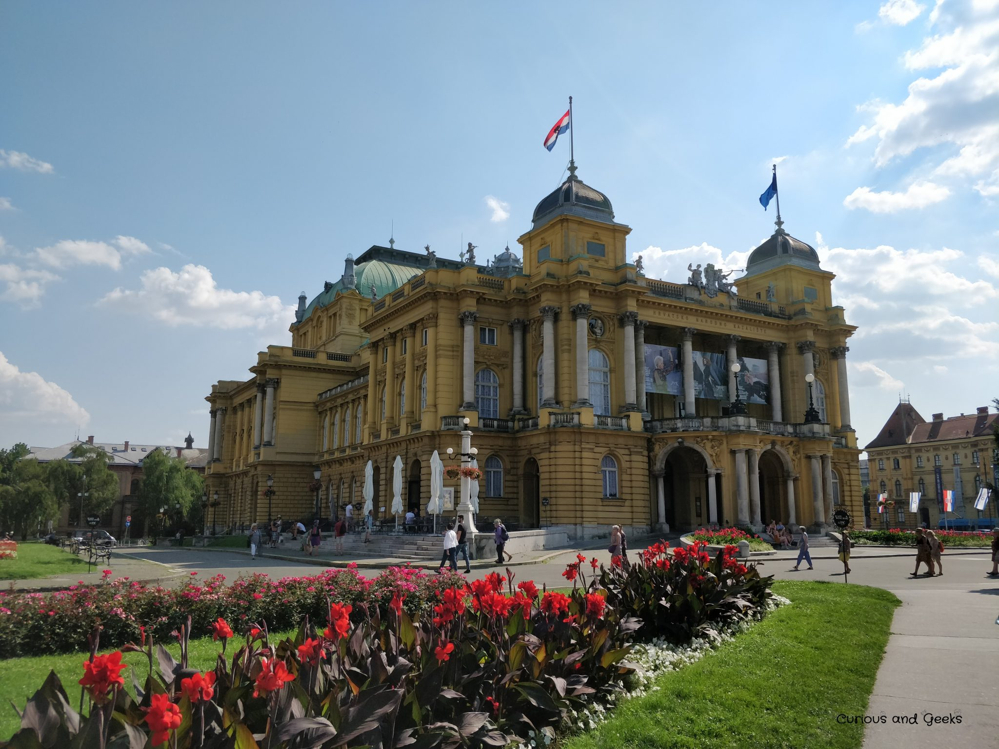 Zagreb - The Croatian National Theater