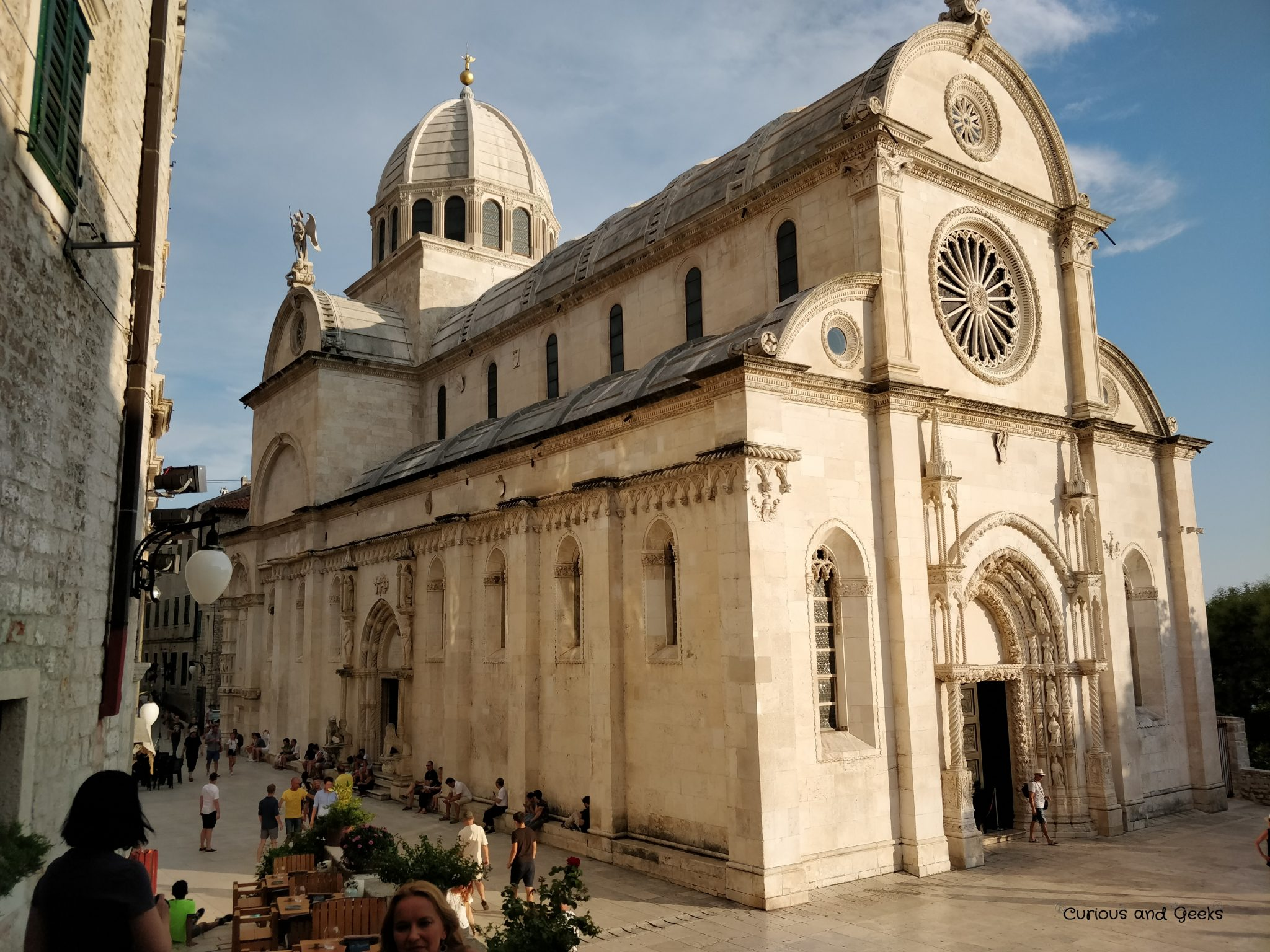 cathedral of saint james - Road trip in Croatia with kids