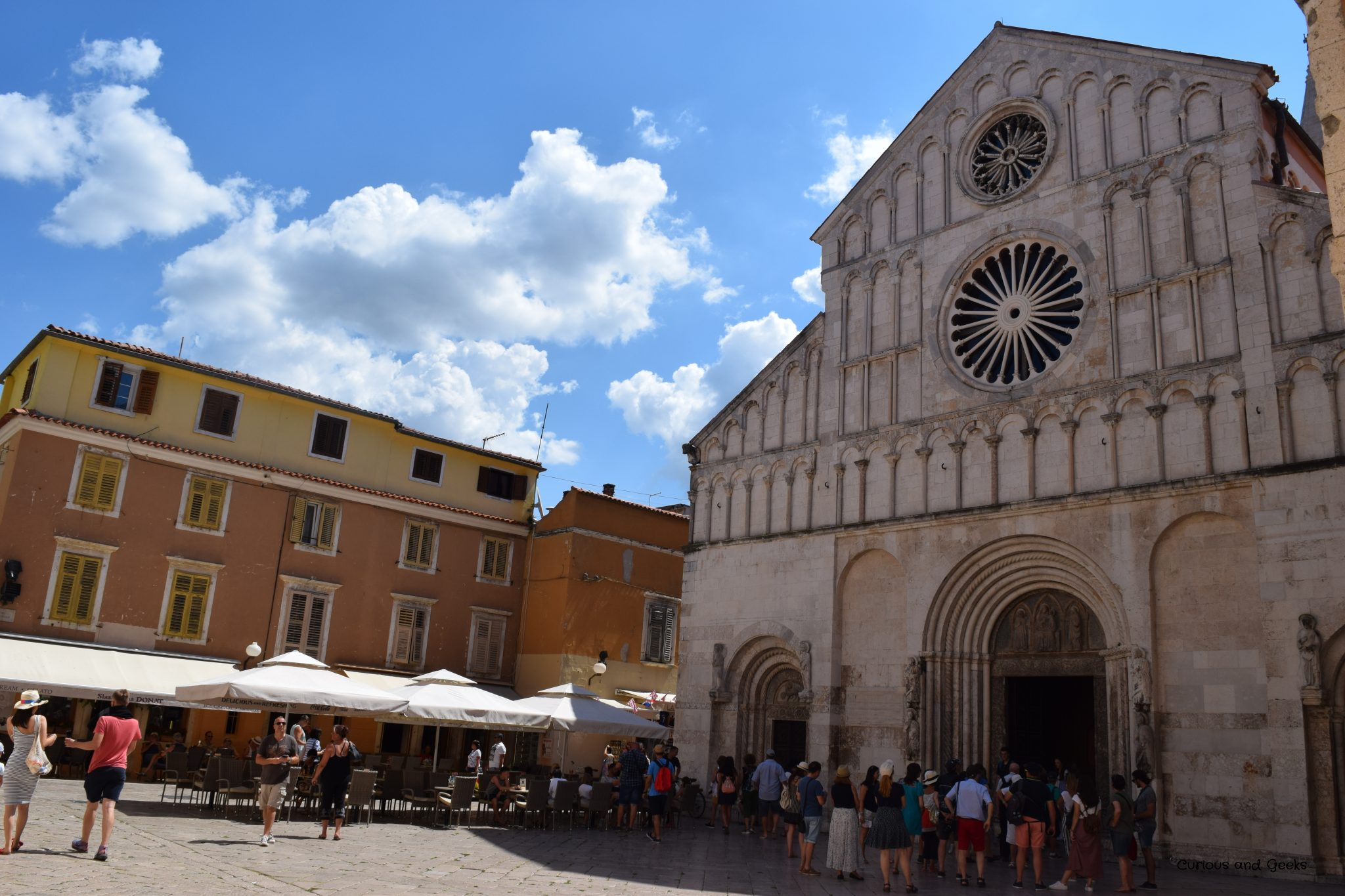 st anastasia´s cathedral - Road trip in Croatia with kids