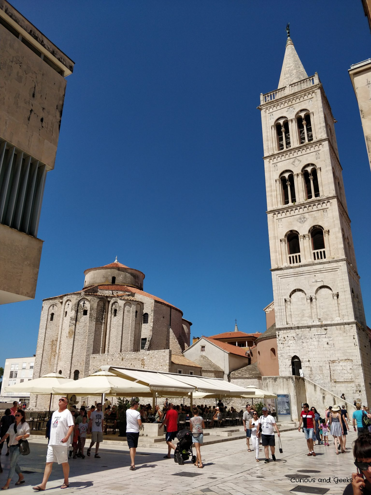 st donatus' church - Road trip in Croatia with kids