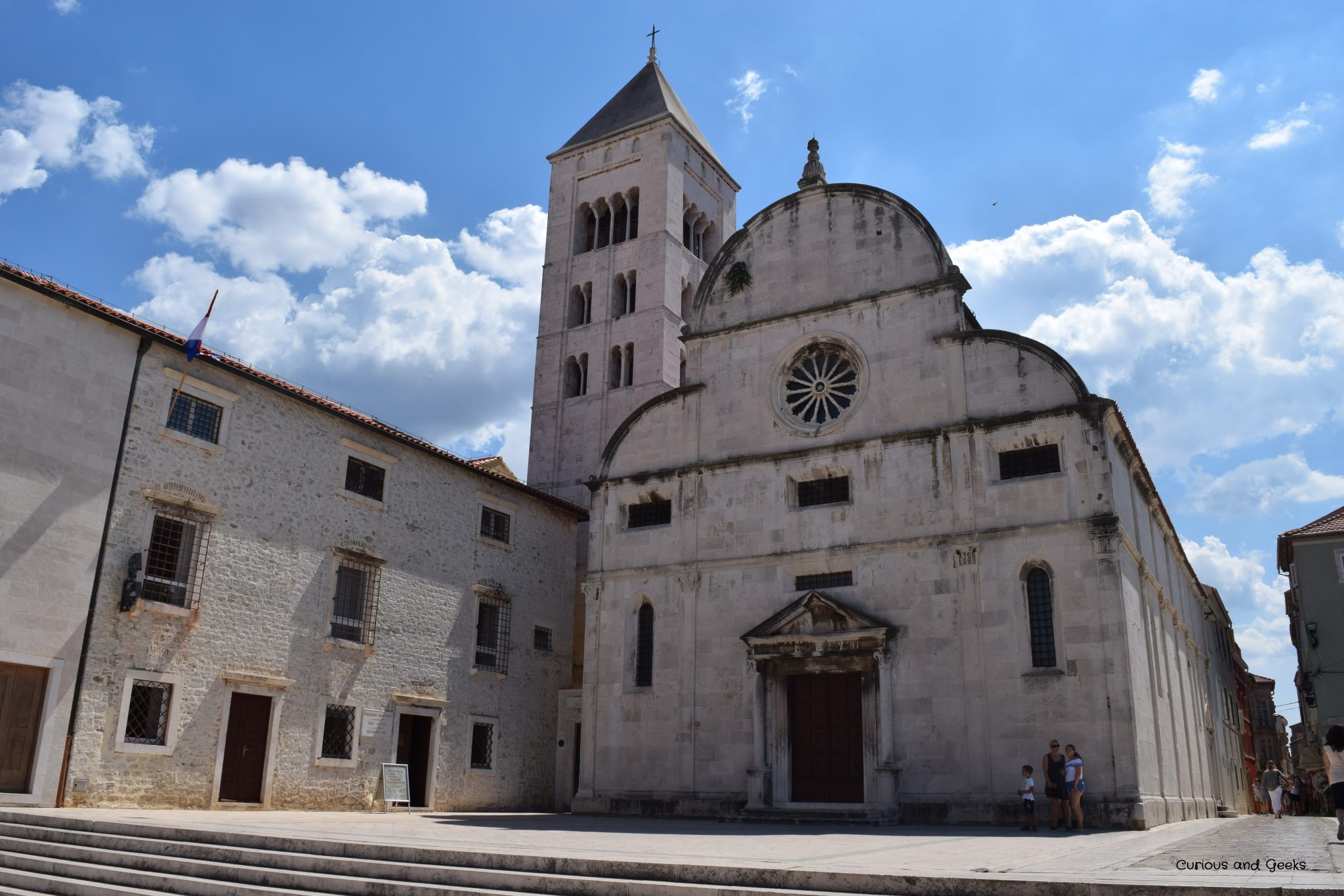 st mary's church and covent - Road trip in Croatia with kids