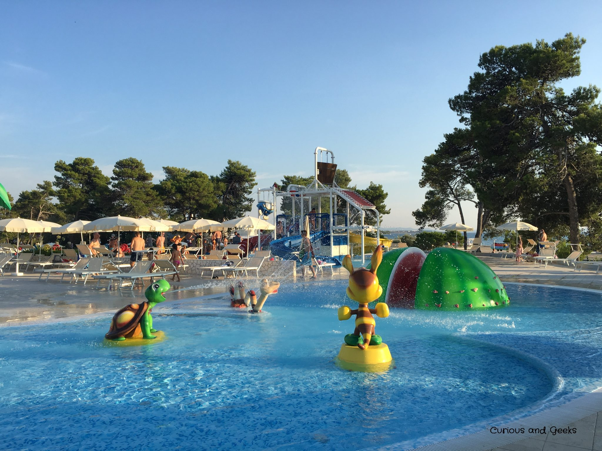 waterpark in zaton - Road trip in Croatia with kids