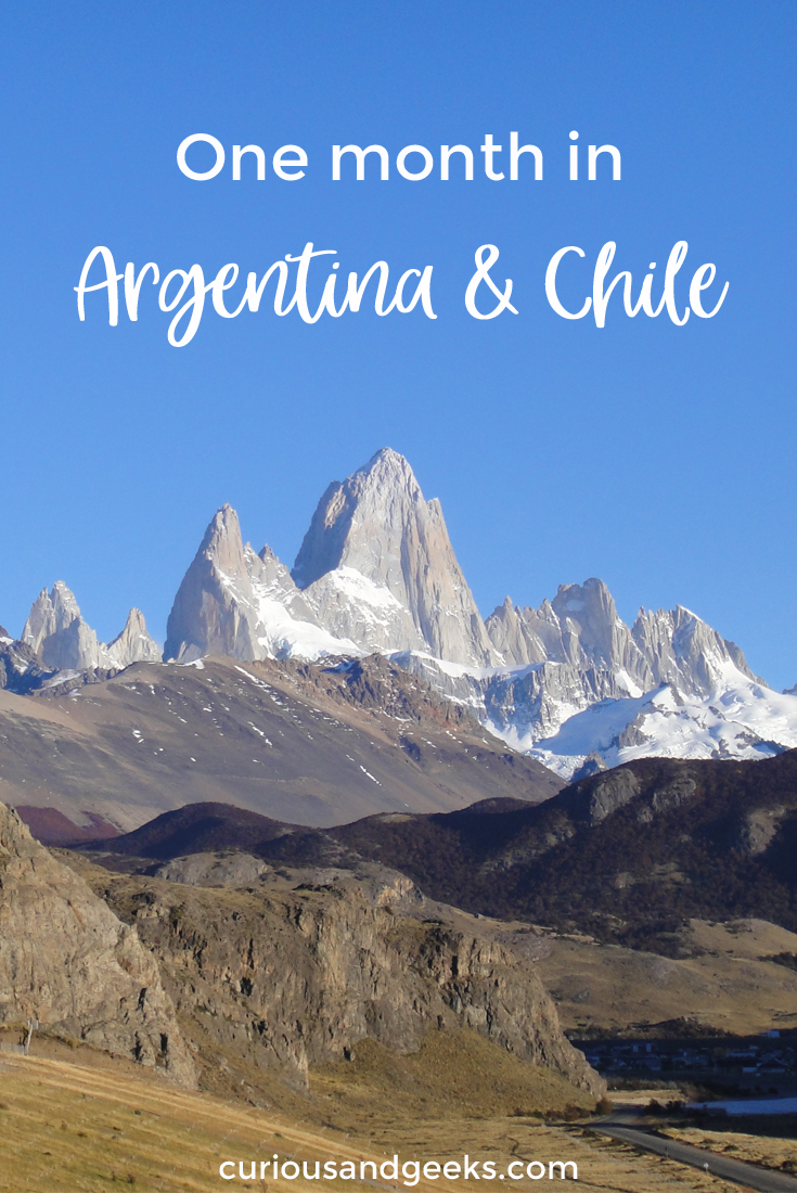 Argentina and Chile 1 - Our one month Argentina and Chile itinerary