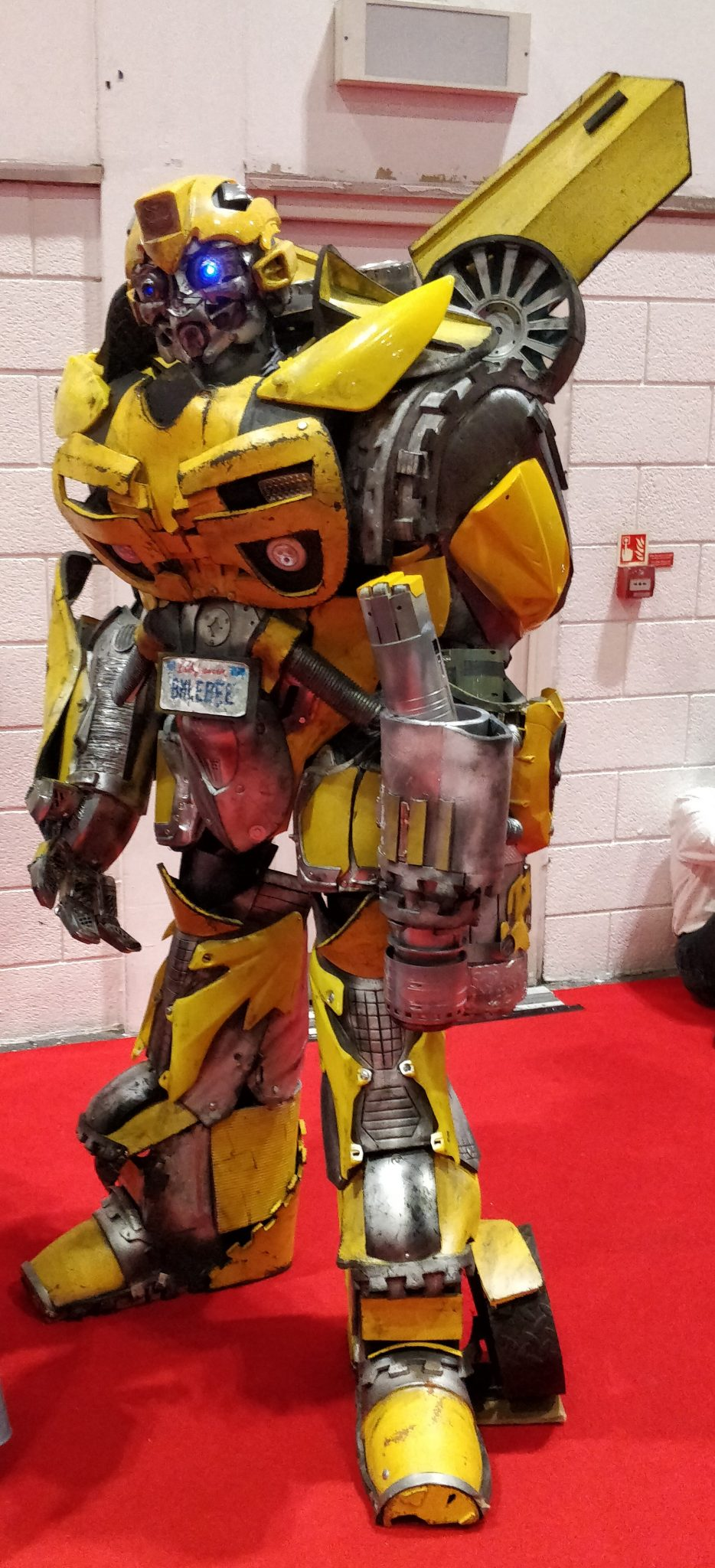 Bumblebee at the London MCM Comic Con