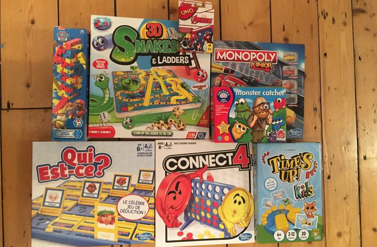 Cover board games 736x482 - Our top nine family board games for young kids