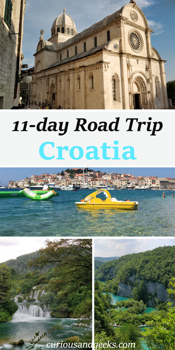 Croatia Itinerary Cover - Road trip in Croatia with kids