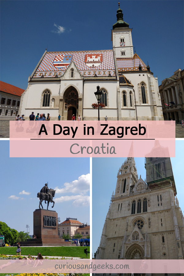 Cover for a day in Zagreb
