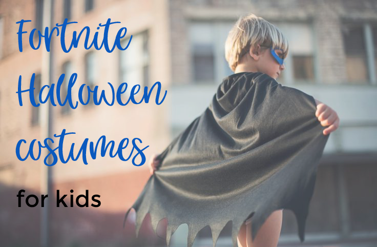 Fortnite Halloween costumes for kids