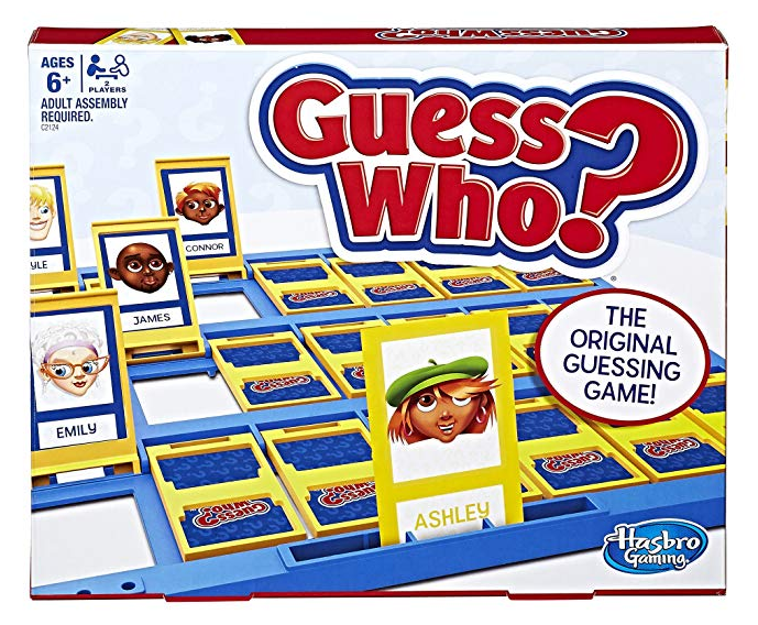 Guess who - Our top nine family board games for young kids