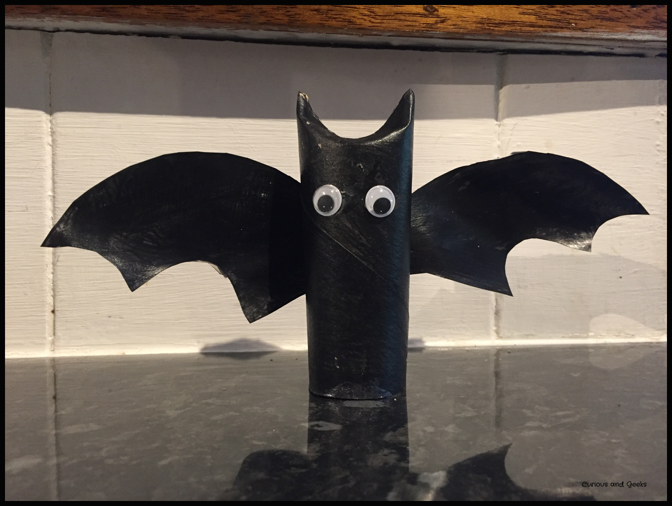 The bat - easy Halloween craft