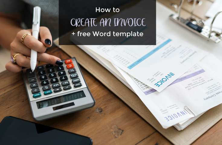 Learn how to create an invoice