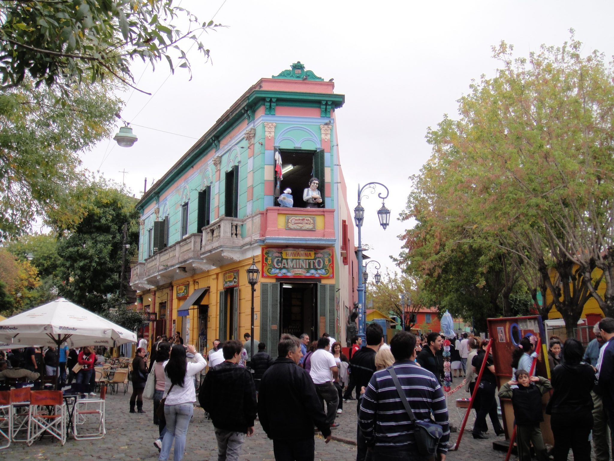 La Boca District - Our one month Argentina and Chile itinerary