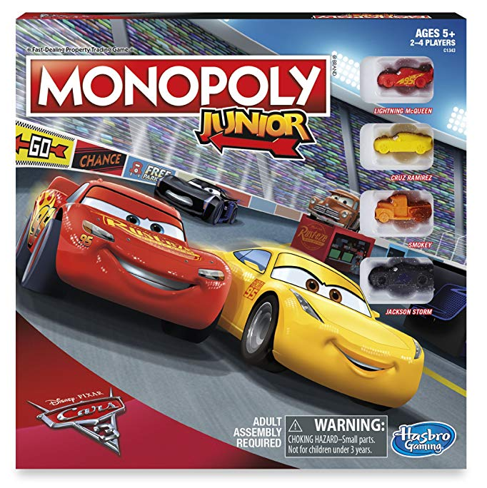 Monopoly cars - Our top nine family board games for young kids