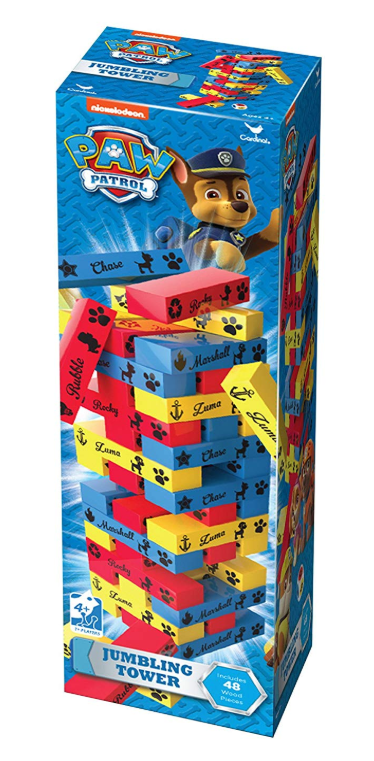 Paw Patrol Jumbling Tower Game - Our top nine family board games for young kids