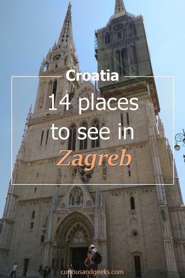 Check out this list of 14 Things to do in Zagreb, Croatia.