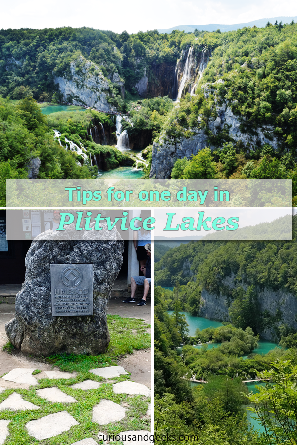 Tips for visiting the Plitvice Lakes in Croatia with kids and in one day:#Plitvice #PlitviceLakes #NationalPark #Croatia