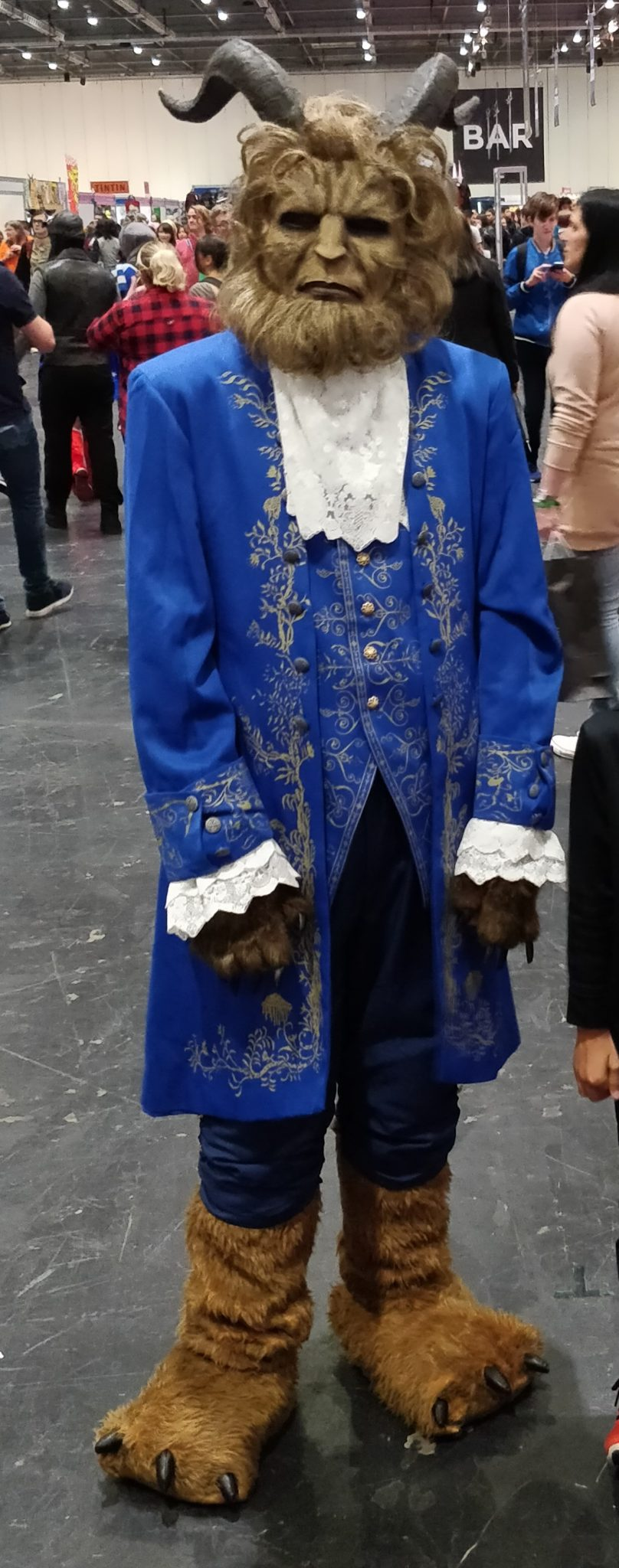 The Beast at the London MCM Comic Con