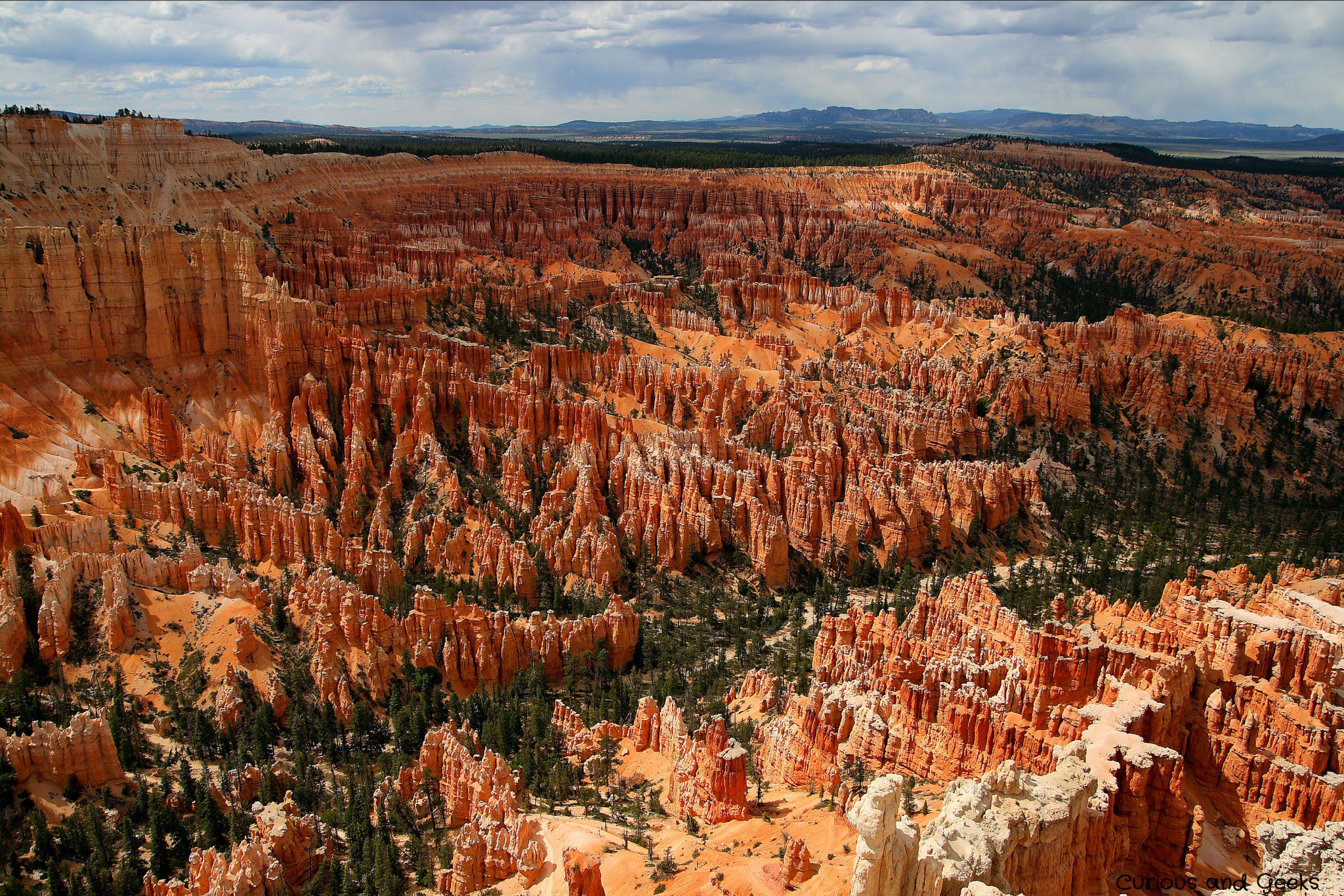 West Coast USA Road trip - View of Bryce Canyon