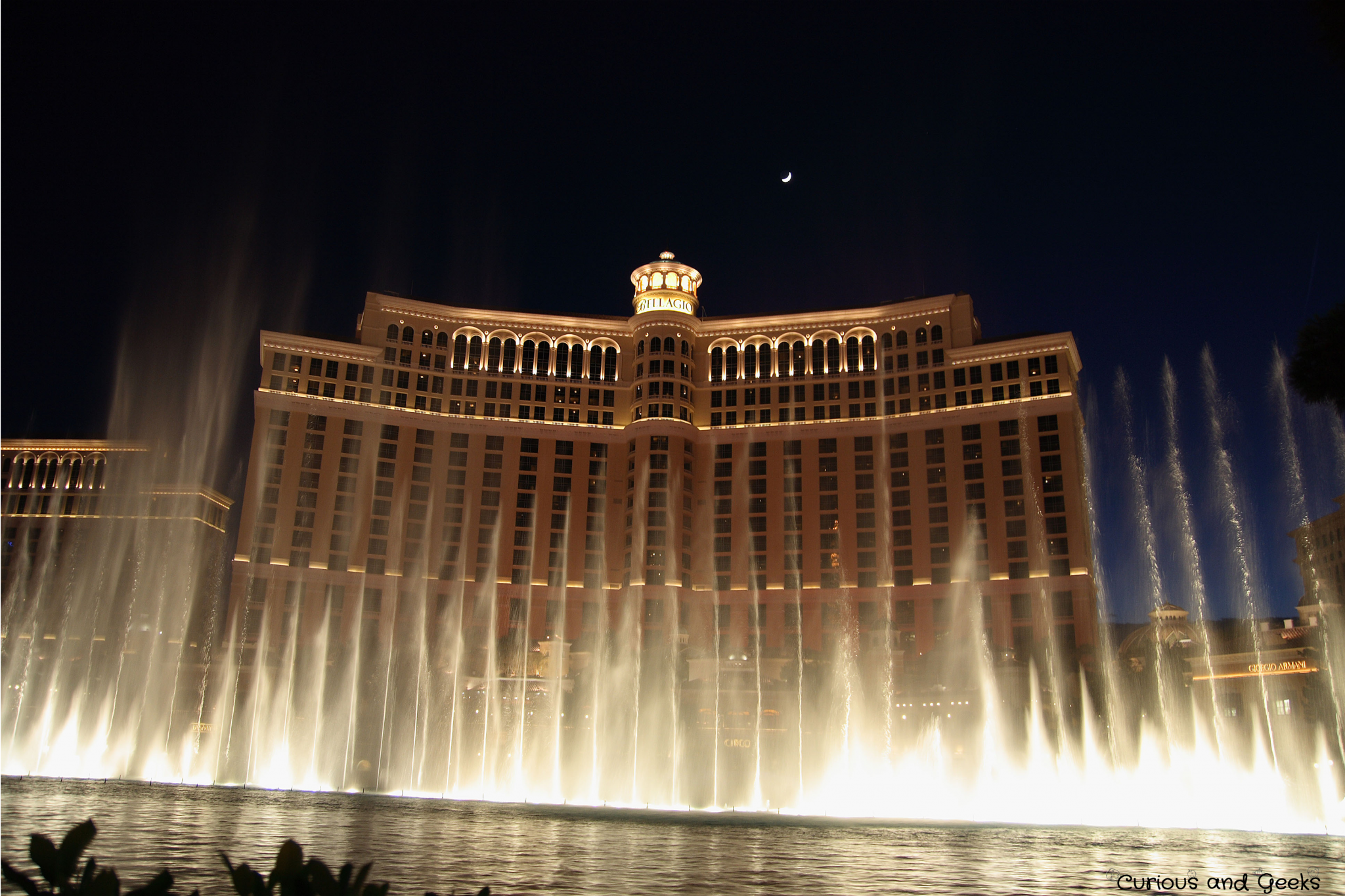 View of the Bellagio in Las Vegas