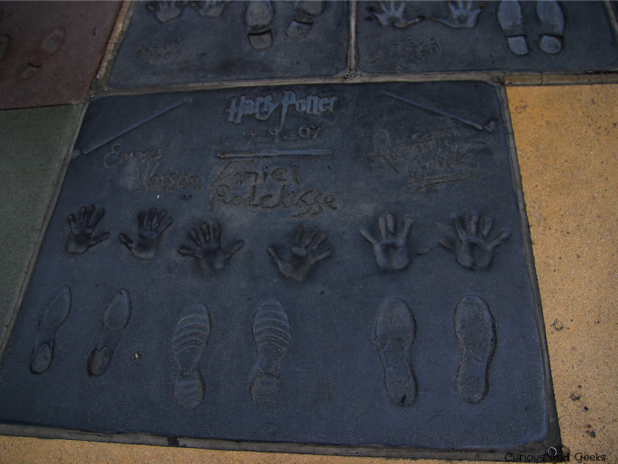 Harry Potter crew stars in Hollywood