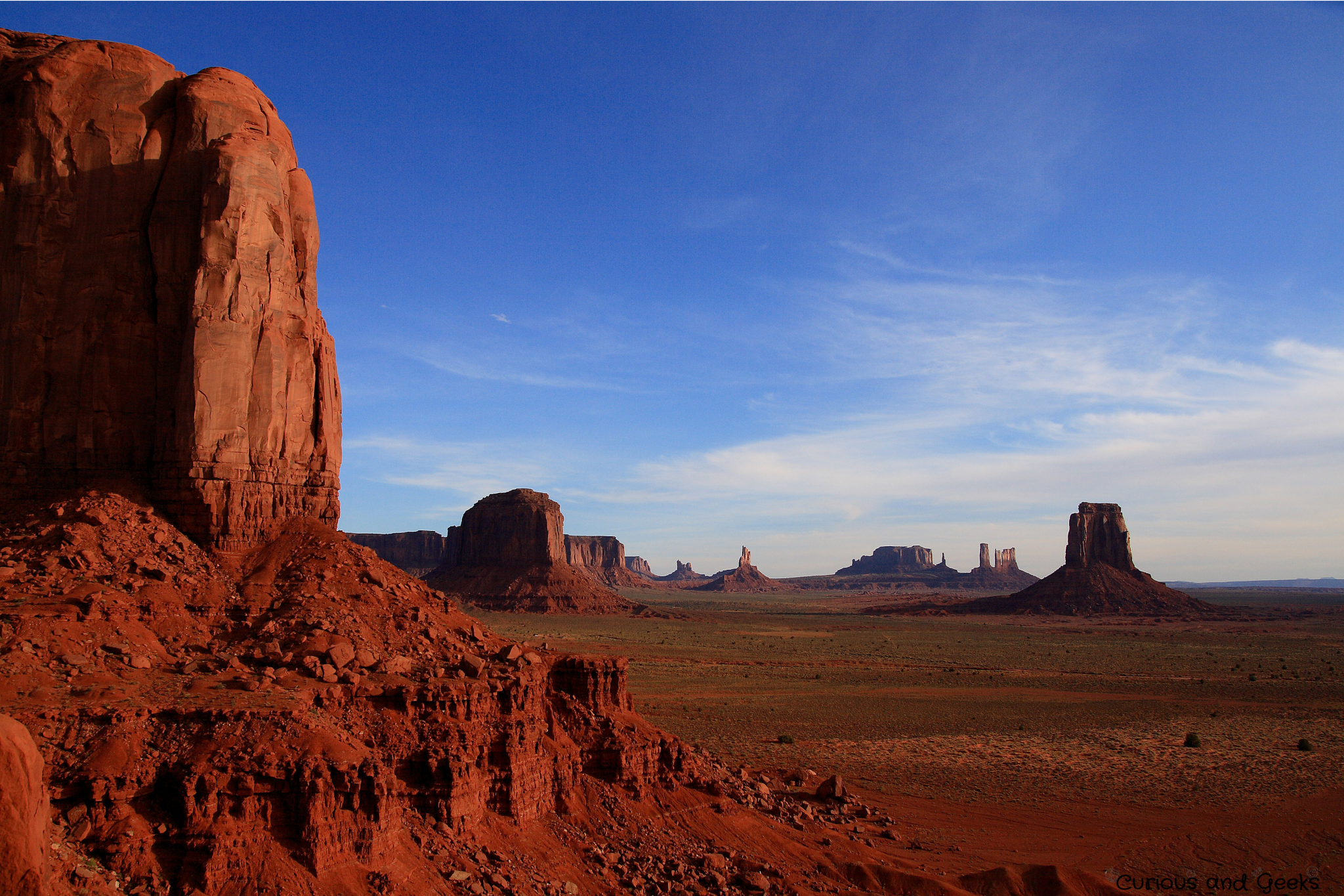 West Coast USA Road trip - View of Monument Valley