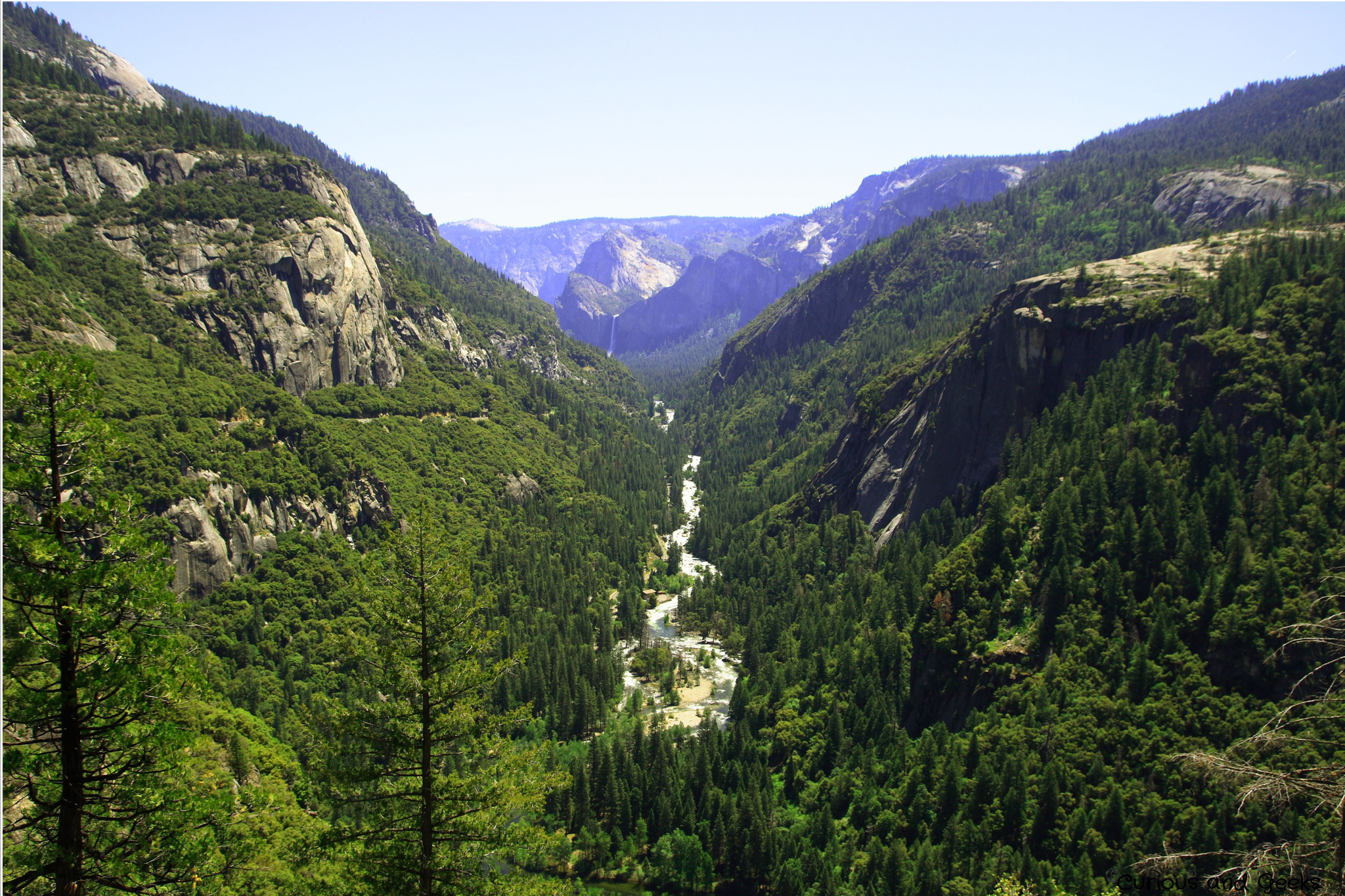 View of Yosemite Park
