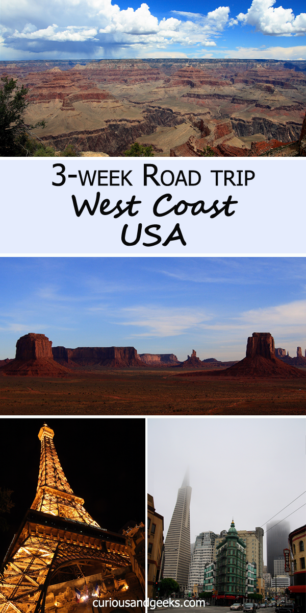 West Coast USA road trip  cover - Our three-week West Coast USA Road Trip