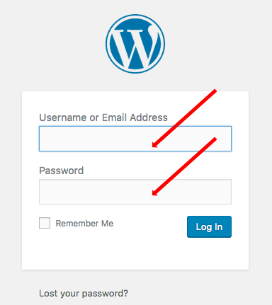 Wordpress access - How to start a blog