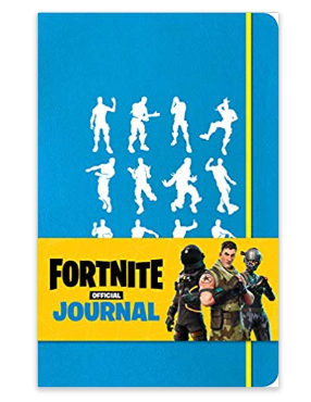 Fortnite Hardcover Ruled journal - Epic Fortnite gifts for kids - 25 gift ideas for Fortnite lovers