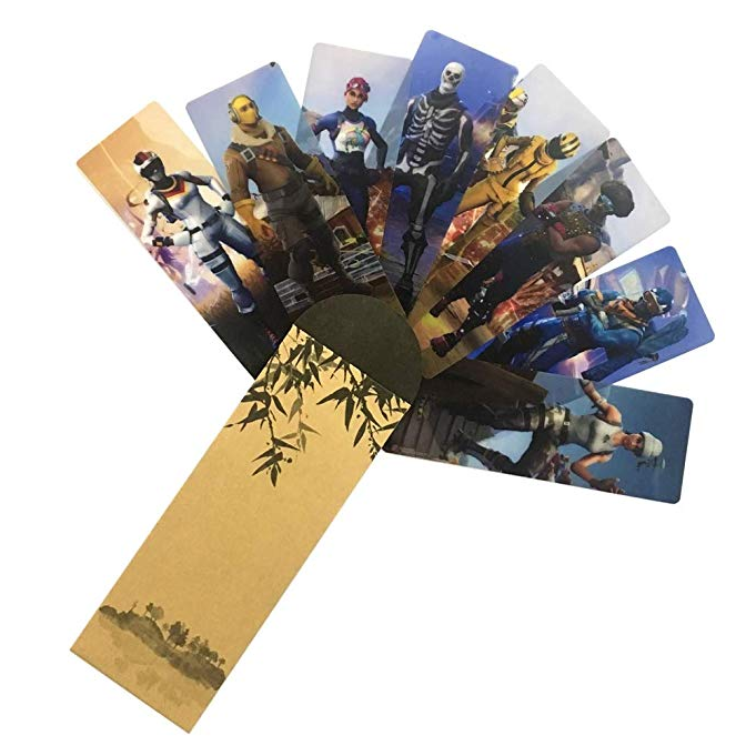 Fortnite bookmark - Epic Fortnite gifts for kids - 25 gift ideas for Fortnite lovers