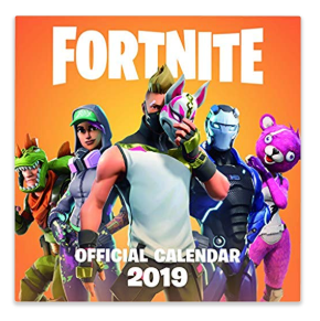 Fortnite calendar - Epic Fortnite gifts for kids - 25 gift ideas for Fortnite lovers