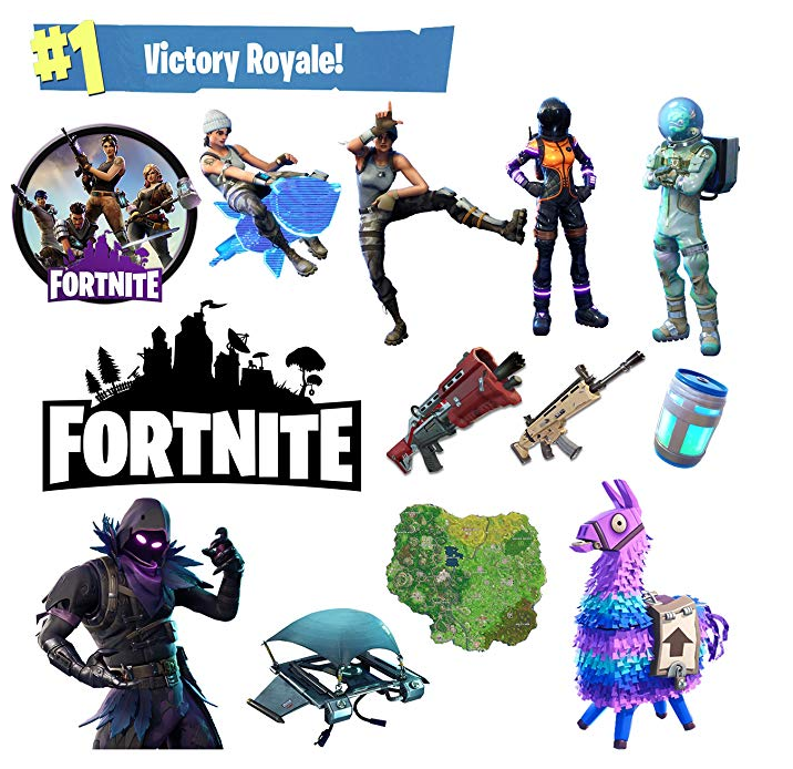Fortnite stickers - Epic Fortnite gifts for kids - 25 gift ideas for Fortnite lovers