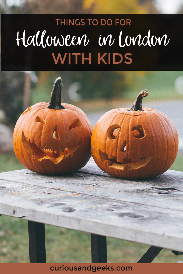If you are looking for kids' friendly activities for this Halloween, check out this list of 19 activities to do for Halloween in London with kids (including games, parties, etc.) #Halloween #Party #Games #Ideas