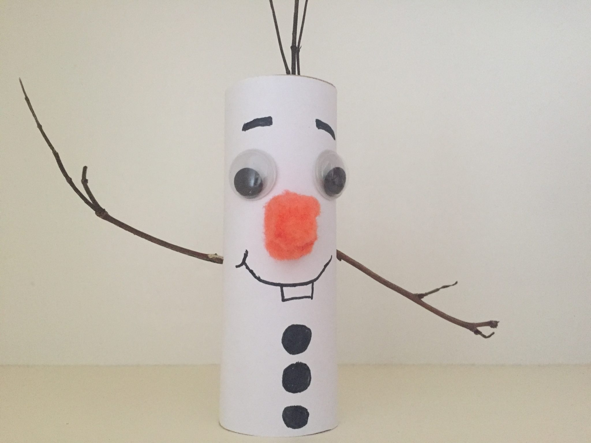 Christmas Crafts For Kids - Olaf