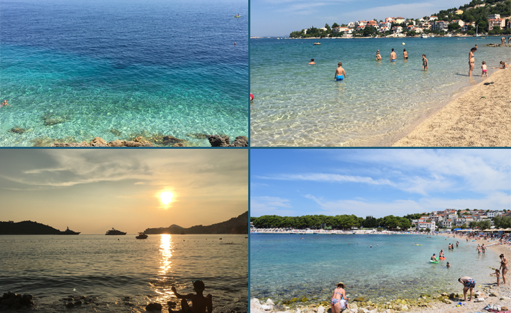 Croatia with kids Beaches - Road trip in Croatia with kids