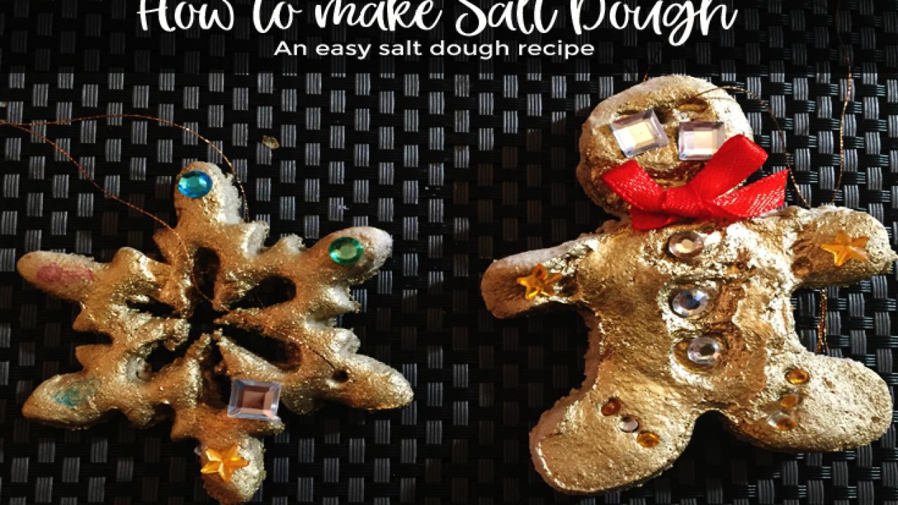 Easy salt dough recipe: How to make