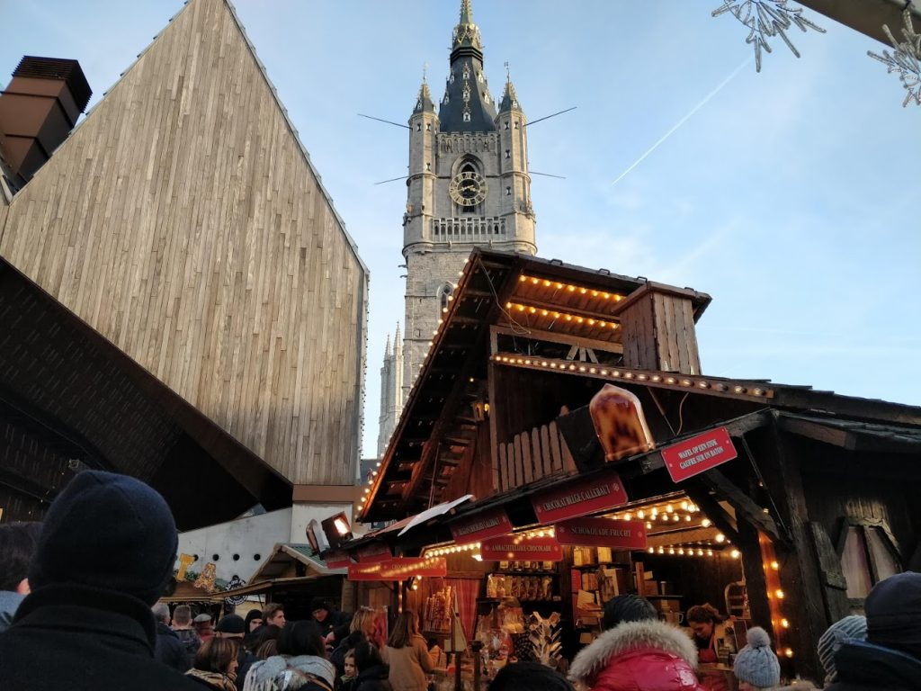 Visiting Ghent, Belgium - Christmas market