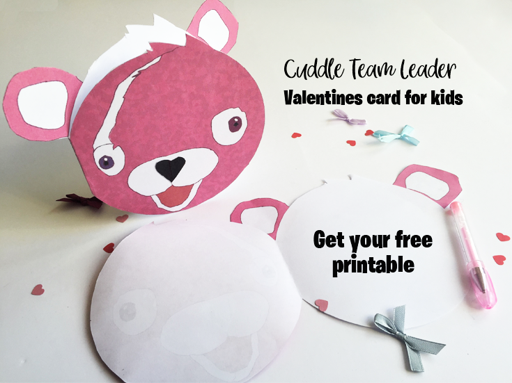 Cuddle Team Leader Valentines Card For Kids Curious And Geeks