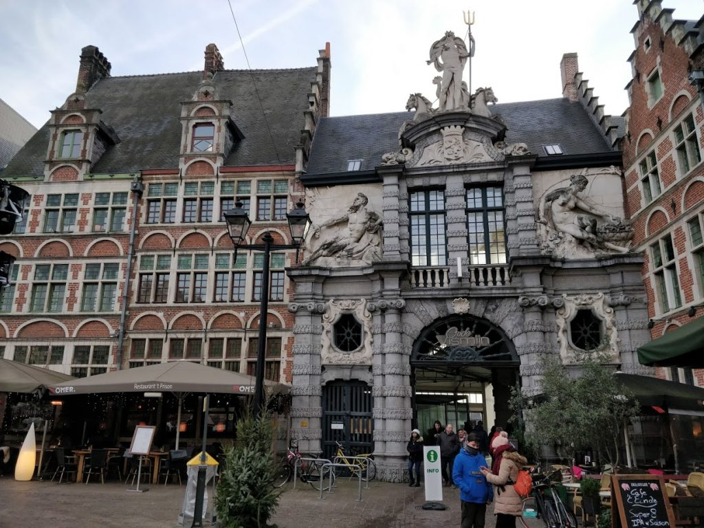 Visiting Ghent, Belgium - Stop 11 Old Fish Market