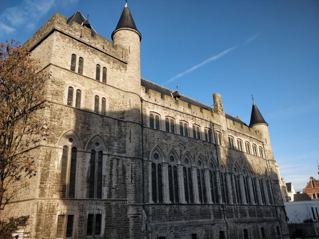 Visiting Ghent, Belgium - Stop 1 Castle of Gerald the Devil