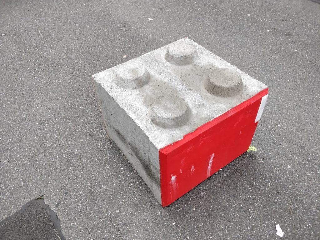 Visiting Ghent, Belgium - Real life lego brick